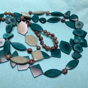 Noonday Collection Skyward Necklace Tagua Seed